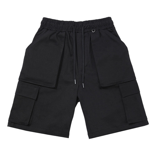 [NOT4NERD]Cargo Shorts - Black