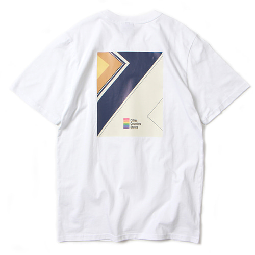 [앱놀머씽] Square T-Shirt (White)