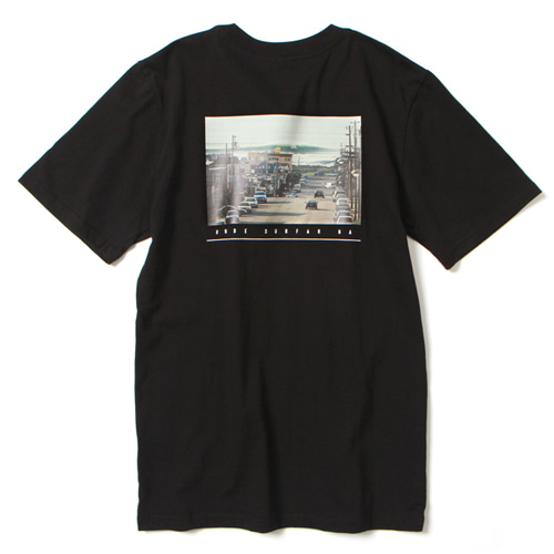 [앱놀머씽] Surfar T-Shirt (Black)