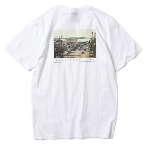 [앱놀머씽] Surfar T-Shirt (White)