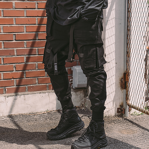 [CRUMP] Tech flavor OG jogger pants (TP0002)