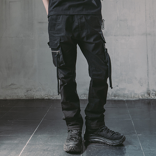[CRUMP] Tech flavor flax pants(TP0003)