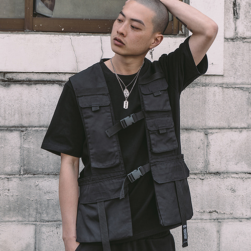 [CRUMP] Tech flavor top flight vest (TO0001)