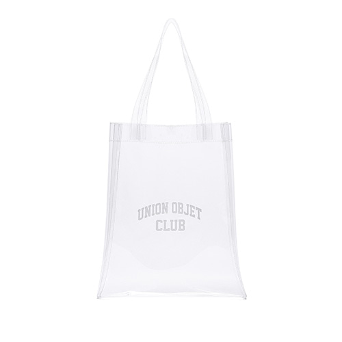 [Unionobjet] Unionobjet Club Pvc Eco Bag - Clear