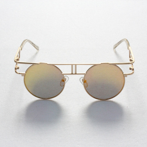 [GOTHICQUE] Golden Frame Sunglasses [G8SD31U11F]