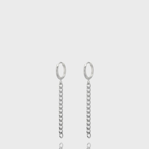 [NONENON] CHAIN EAR