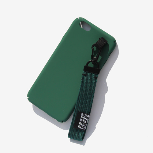 [RUSHOFF] Casual Belt Keyring I-Phone Case-Green/캐주얼 벨트키링 아이폰케이스-그린