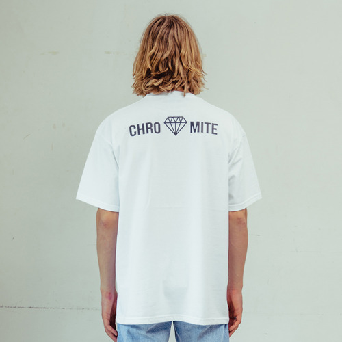 [CHROMITE] Logo T-Shirts - WHITE