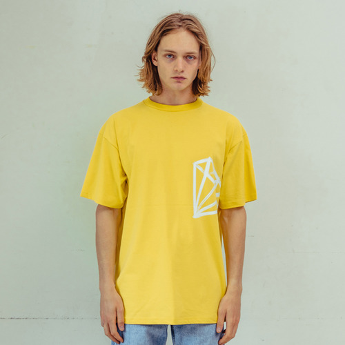 [CHROMITE] Dia T-Shirts - YELLOW