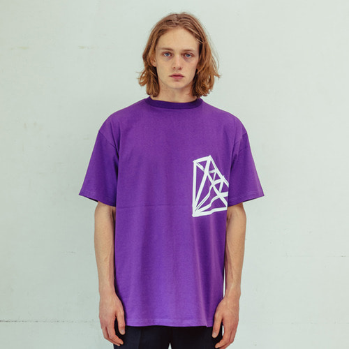 [CHROMITE] Dia T-Shirts - PURPLE