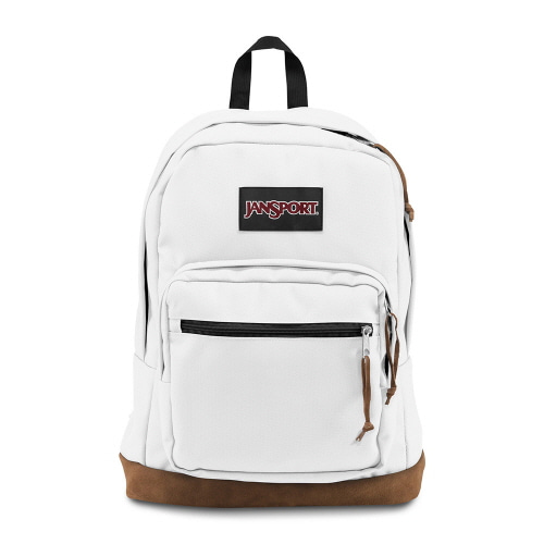 [JANSPORT] RIGHT PACK - WHITE (JSTYP7WHXI1)