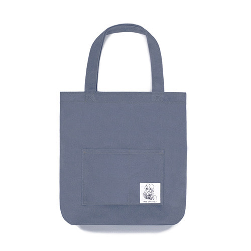 [Lebenea x Red Crystal]Cerulean Blue Denim Eco Bag