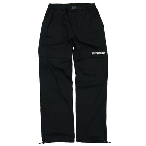 [Double adrenaline syndrome][남녀공용] Basic string pants - black