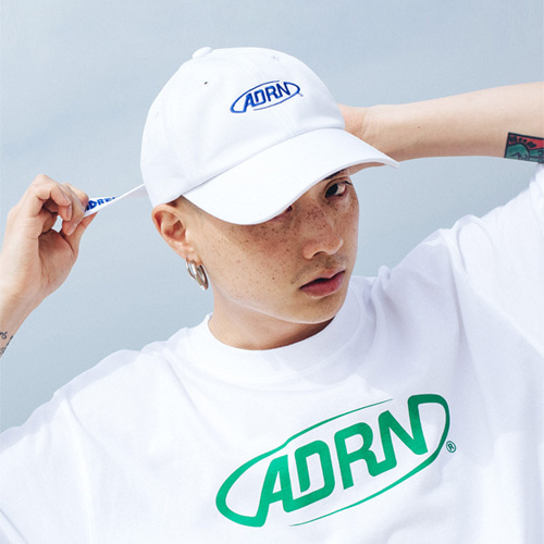 [Double adrenaline syndrome][남녀공용]ADRN LOGO ballcap - white