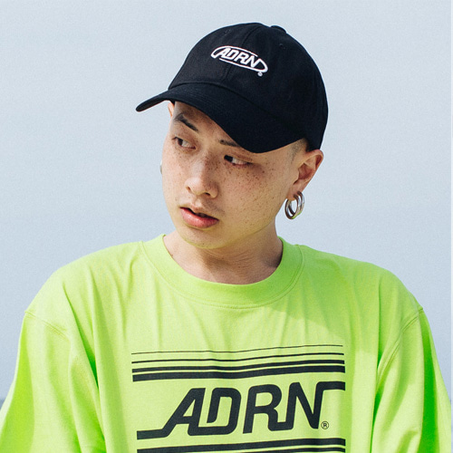 [Double adrenaline syndrome][남녀공용]ADRN LOGO ballcap - black