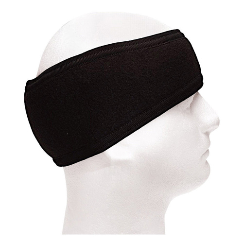 [Rothco] Double Layer Headband - Black