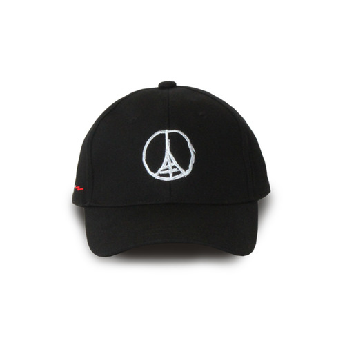 [GOTHICQUE] Basic Eiffel Tower Ballcap[G8SD38U89]
