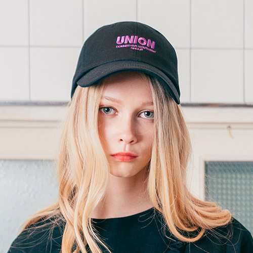 [Unionobject] Union Signature Ballcap - Black