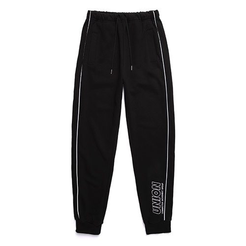 [Unionobject] Union Signature Training Pants - Black