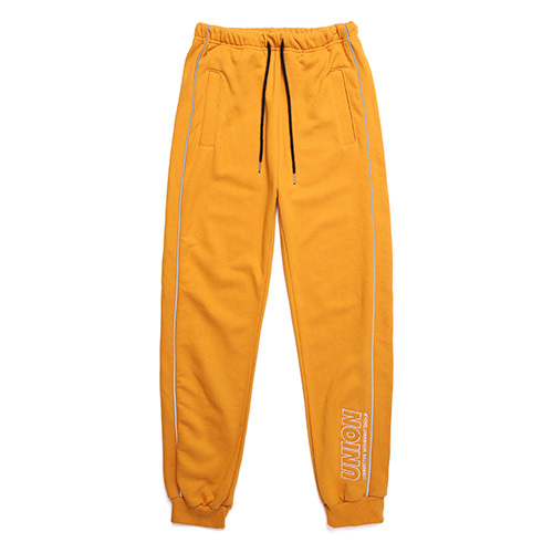 [Unionobject] Union Signature Training Pants - Mustard