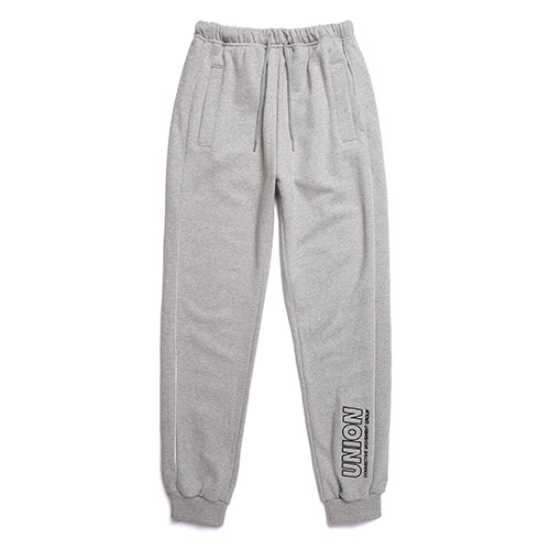 [Unionobject] Union Signature Training Pants - Gray