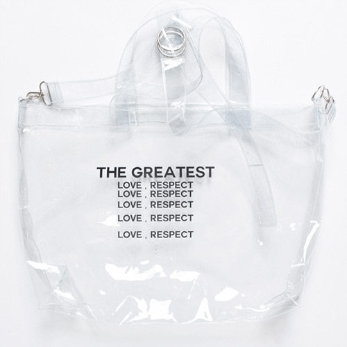 [THE GREATEST] GT 18SUMMER 10 PVC BAG