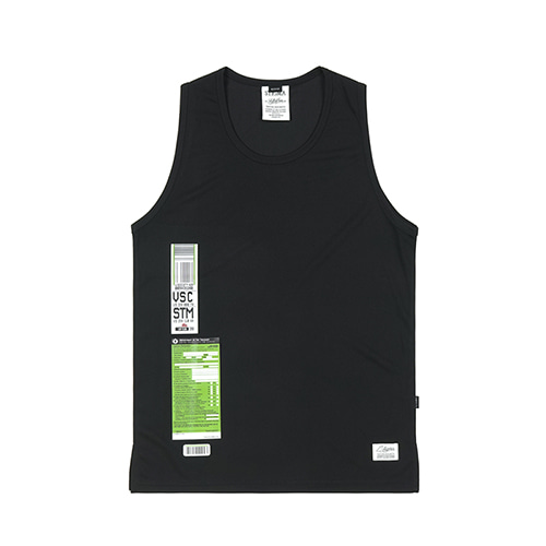 [STIGMA]IMMIGRATION COOLON SLEEVELESS - BLACK