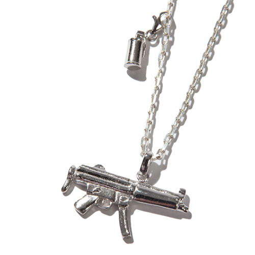 [KRUCHI] Mp5 & M18 smoke necklace (silver)
