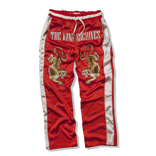 [KING] Sukajan Pants - Red