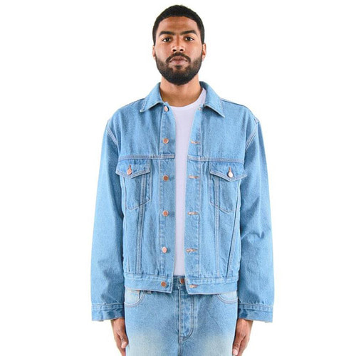 [EPTM] DENIM TRUCKER JACKET (BLUE)
