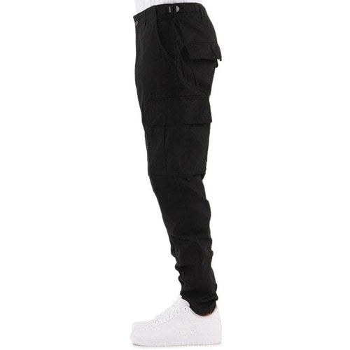 [EPTM] WASHED RIPSTOP TECH PANTS (BLACK)