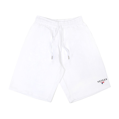 [VETEZE] LOPLE SHORTS (White)