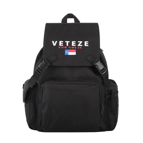 [1월30일 출고예정][VETEZE] NEW SCHOOL BACKPACK (Black)