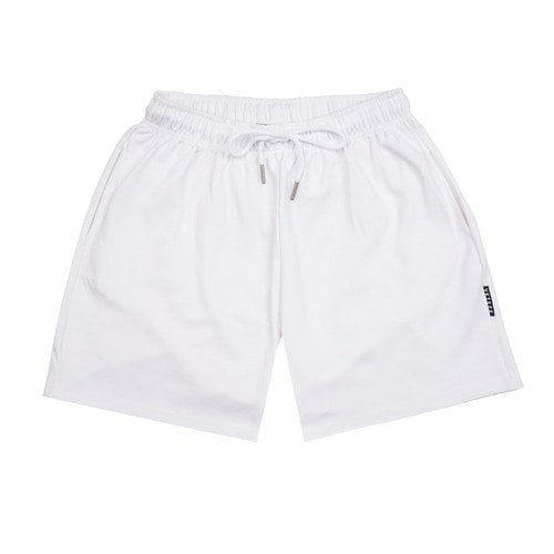 [VETEZE] RENAS_2 HALF PANTS (White)