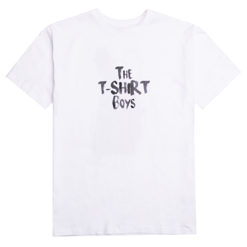 [XYZ] UNISEX THE T-SHIRT BOYS - WHITE