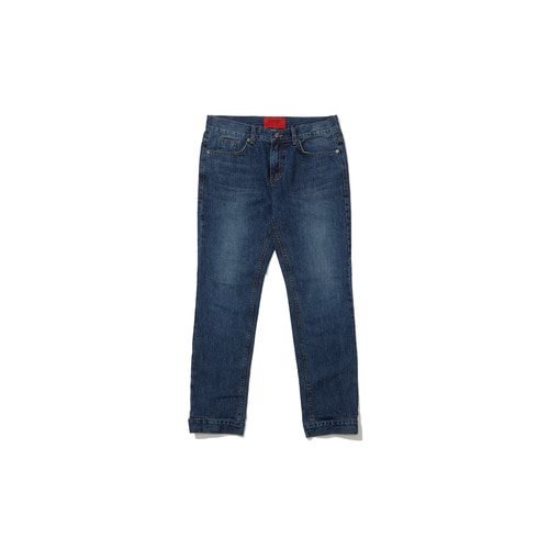 [OVERR] 18FW BLUE WASHING DENIM PANTS