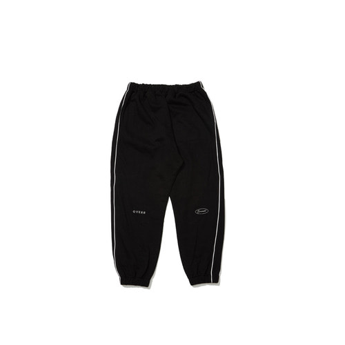 [OVERR] 18FW BLACK SCOTCH PIPING PANTS