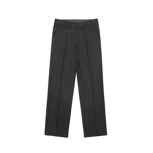 [LAFUDGESTORE] Metier Wide Wool Slacks_Black