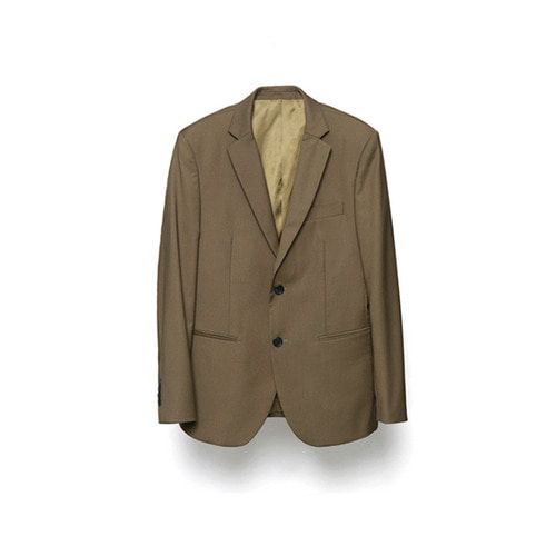 [LAFUDGESTORE] Metier Wool Jacket_Brown