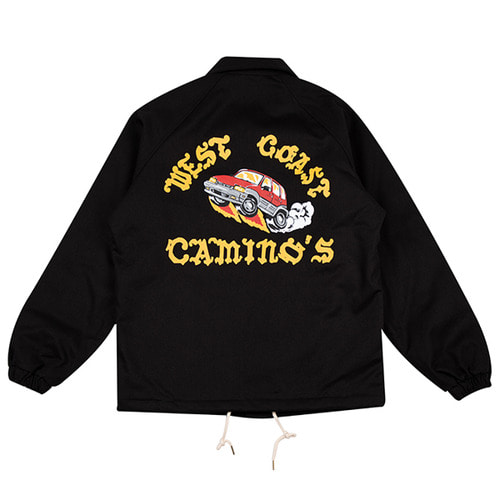 [하운드빌] TICO coach jacket black