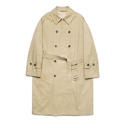 [LAFUDGESTORE][리뉴얼ver.] Classic Over Trench Coat_Beige