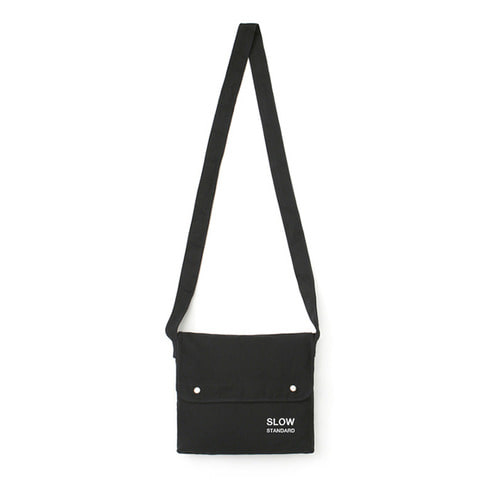 [LAFUDGESTORE] Eco Sacoche Bag_Black
