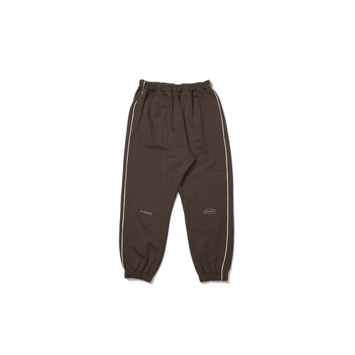 [OVERR] 18FW KHAKI SCOTCH PIPING PANTS
