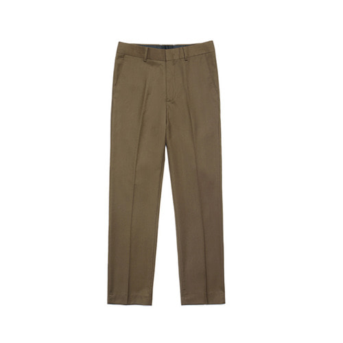 [LAFUDGESTORE] Metier Tapered Wool Slacks_Brown