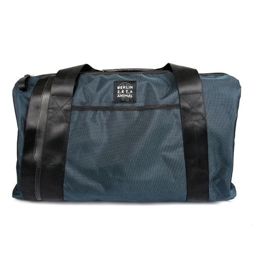 [zanimal]DDR Blue Grey Boston Bag