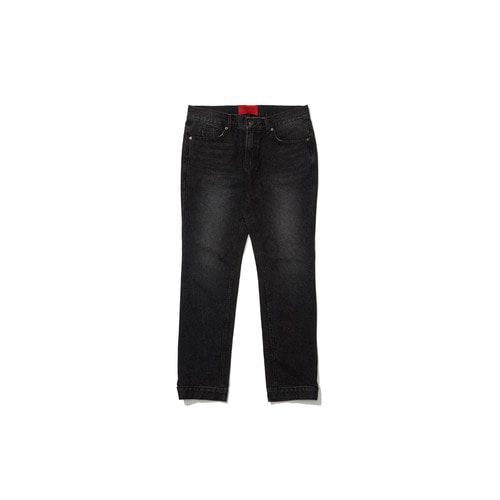 [OVERR] 18FW BLACK WASHING DENIM PANTS