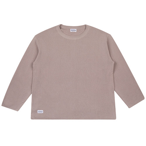 [하운드빌] LOOSE FIT knit wear grey