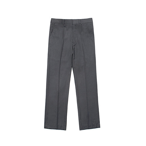 [LAFUDGESTORE] Metier Wide Wool Slacks_Charcoal
