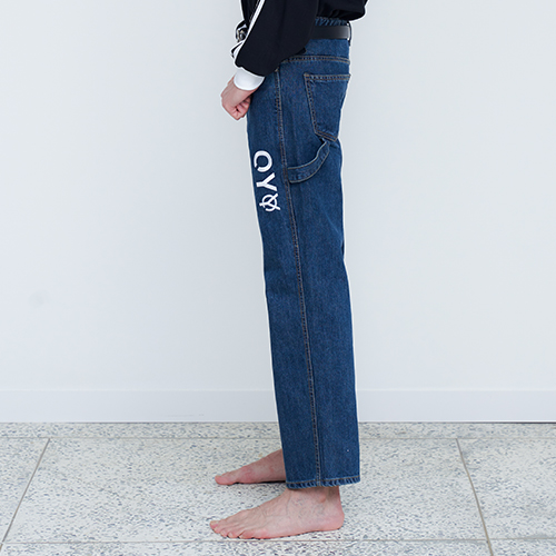 [OY] LOGO DENIM PANTS