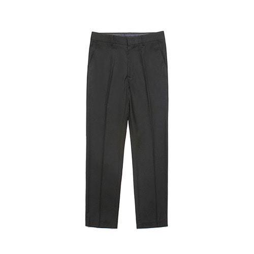 [LAFUDGESTORE] Metier Tapered Wool Slacks_Black